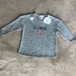 Chicka-d Kids University of Illinois Sweatshirt